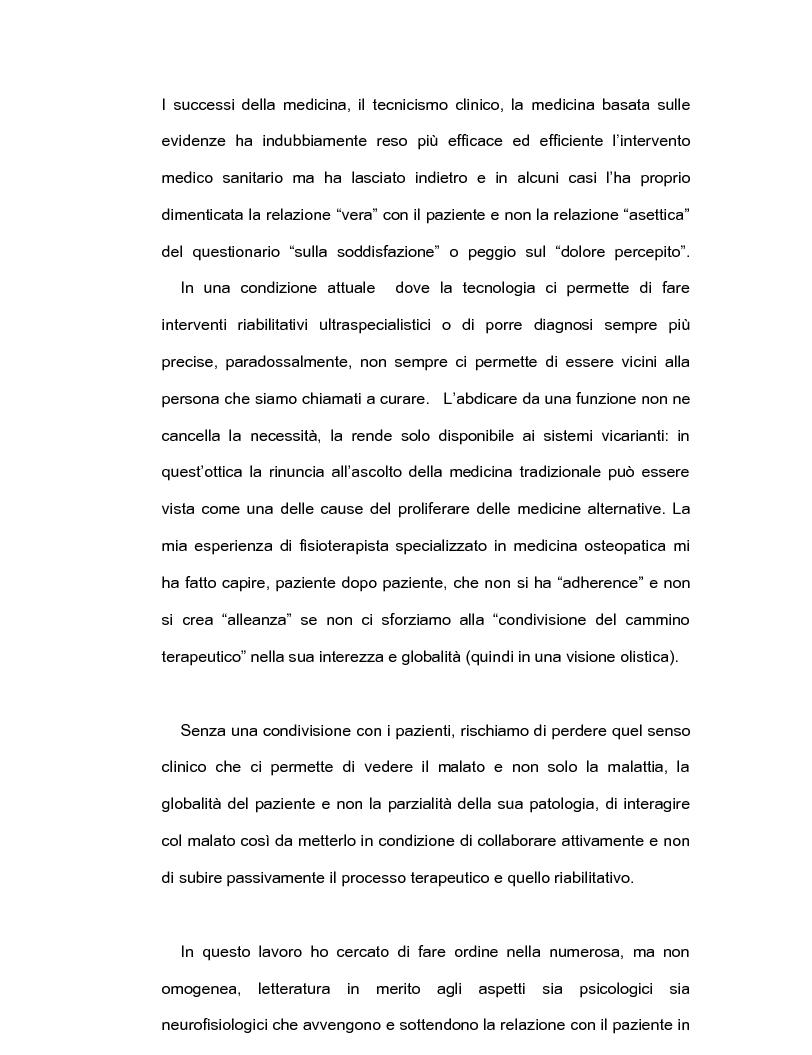 Anteprima della tesi: Intelligenza emotiva e adherence per un un outcome clinico favorevole, Pagina 2