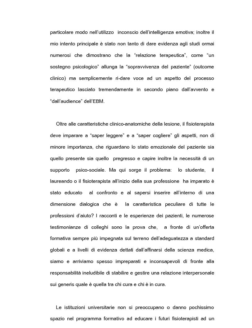Anteprima della tesi: Intelligenza emotiva e adherence per un un outcome clinico favorevole, Pagina 3