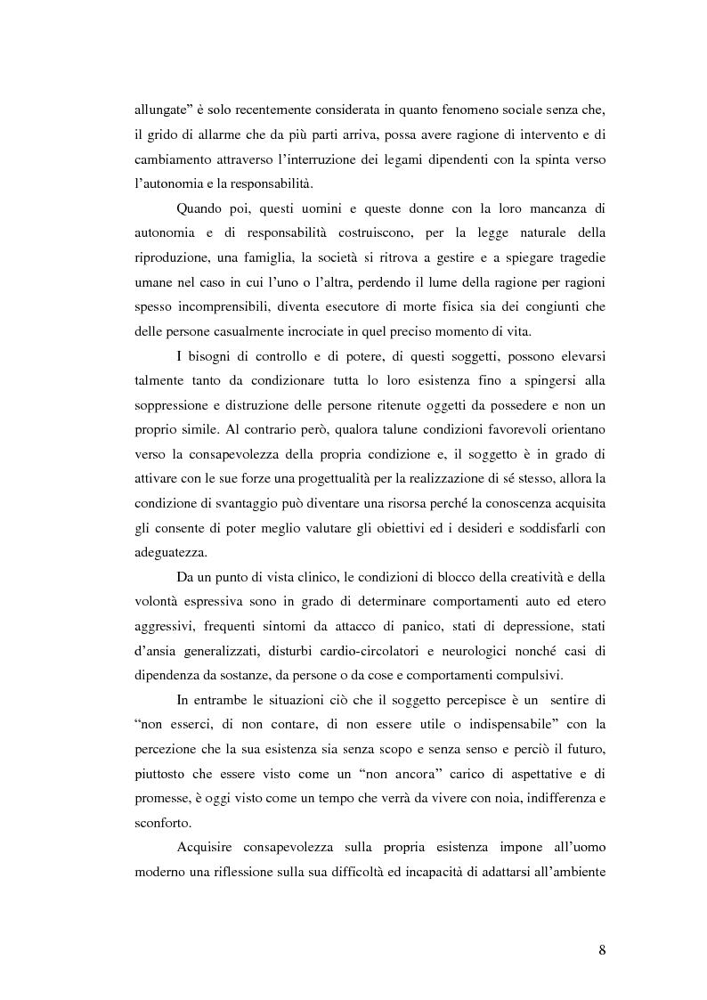 Anteprima della tesi: Il legame affettivo tra con-fusione e identità. Psicopatologia della relazione affettiva., Pagina 6