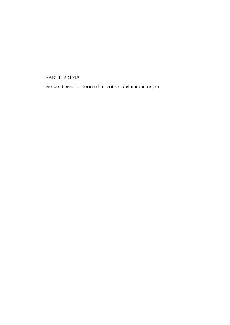 Anteprima della tesi: Fedra e l'Usignolo. Riscrittura del mito nel teatro di Timberlake Wertenbaker e Sarah Kane, Pagina 6