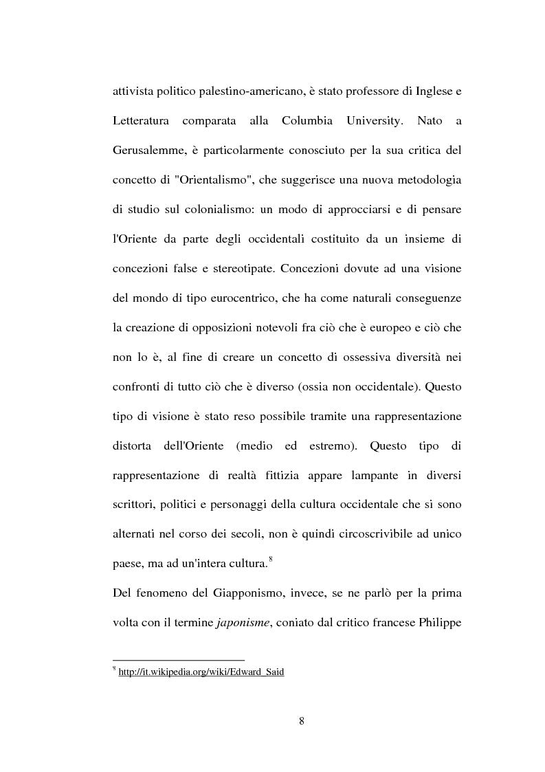 Anteprima della tesi: Moda, arte e orientalismo: da Paul Poiret alla rivoluzione giapponese nella Haute Couture, Pagina 6