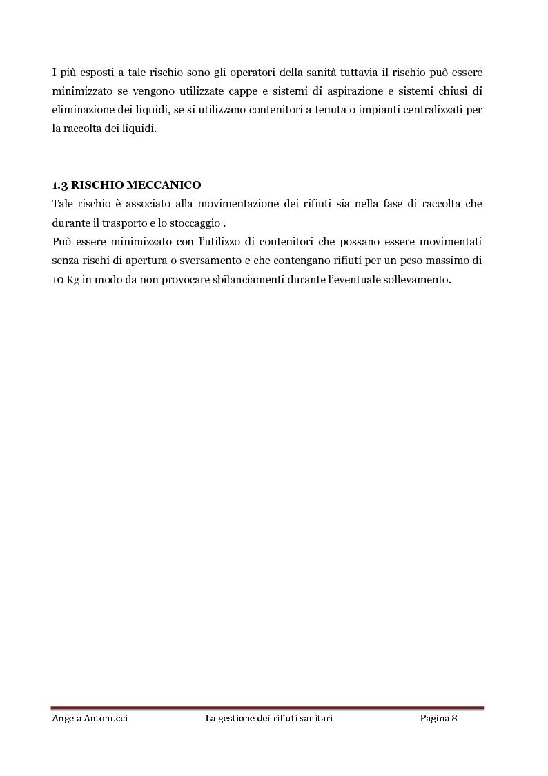 Anteprima della tesi: La gestione dei rifiuti sanitari, Pagina 7