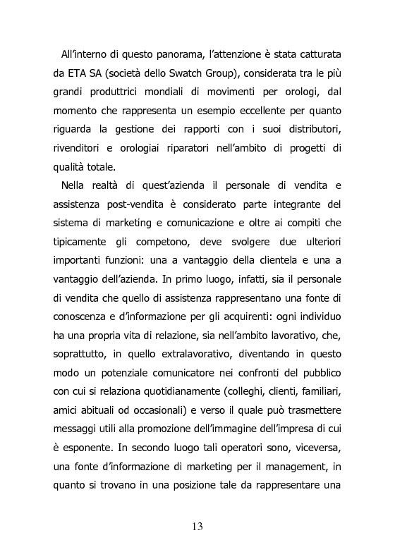 Anteprima della tesi: L'orologiaio, un mestiere anico al passo con i tempi. Aggiornarsi alla Swatch Group., Pagina 3