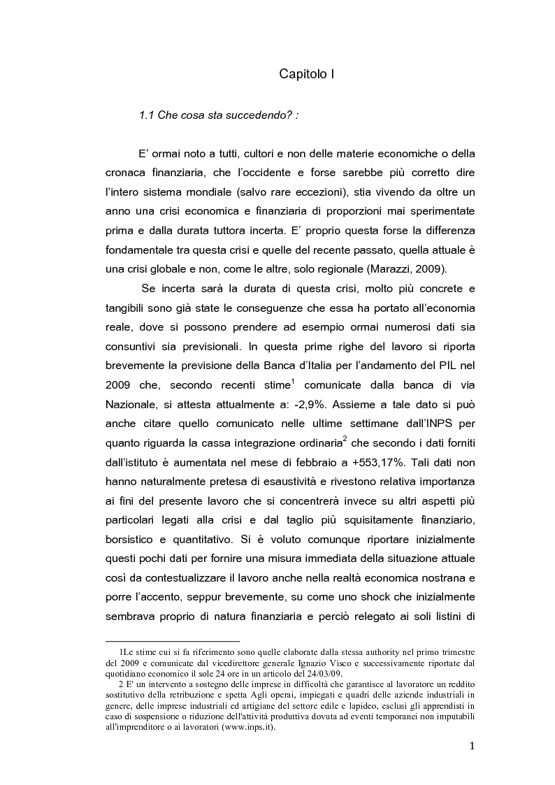Anteprima della tesi: Restrizioni all'attività di short selling e impatto sui mercati finanziari, Pagina 4