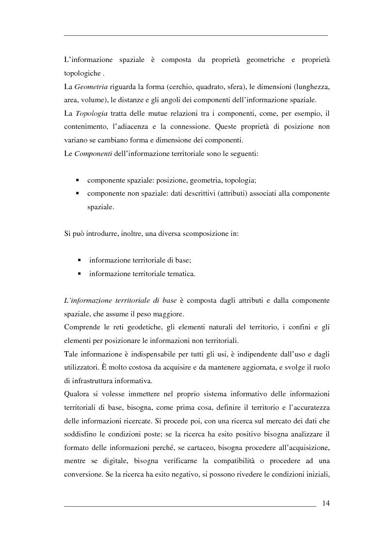 Anteprima della tesi: Un algoritmo efficiente di cammino minimo per sistemi informativi territoriali, Pagina 9
