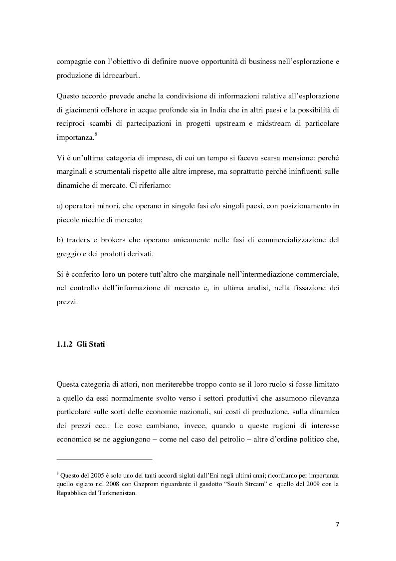Anteprima della tesi: Il mercato petrolifero: gli strumenti di formazione dei prezzi e le conseguenze macroeconomiche, Pagina 10