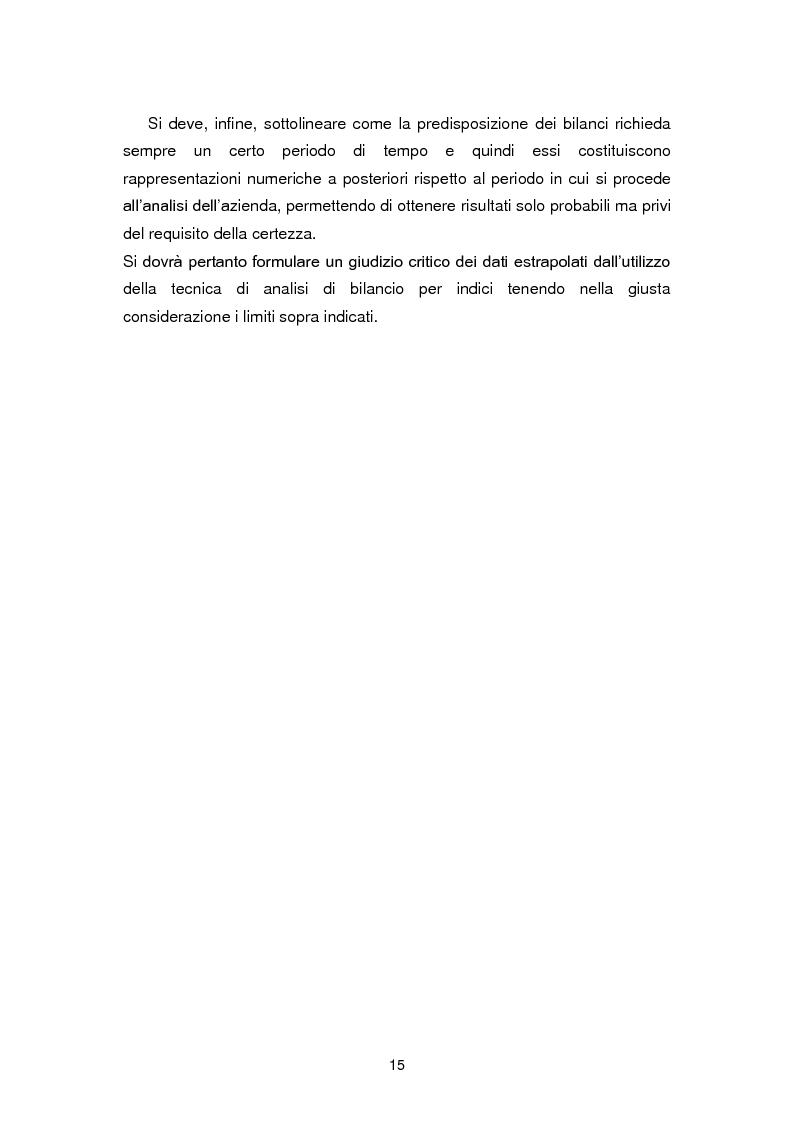 Anteprima della tesi: I limiti dell'analisi di bilancio per indici: il caso Sabaf, Pagina 11