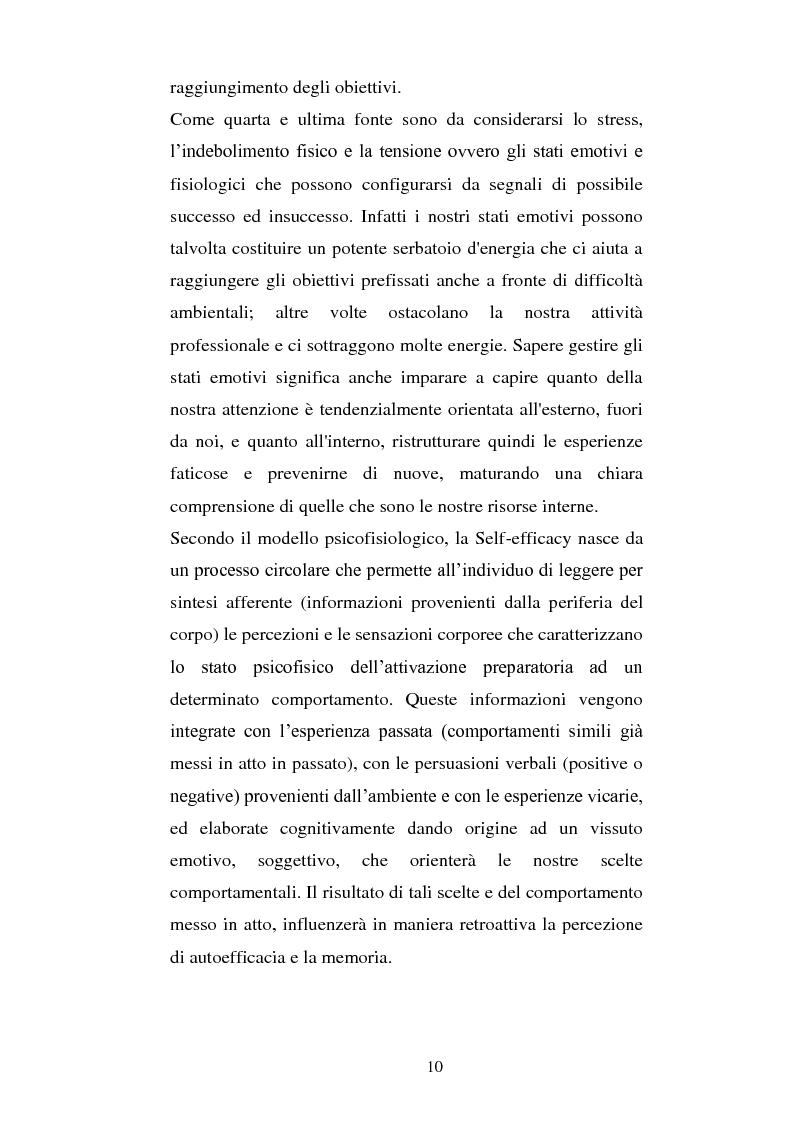 Anteprima della tesi: Autostima, autoefficacia, identità di genere e soddisfazione lavorativa: una ricerca sul campo, Pagina 8