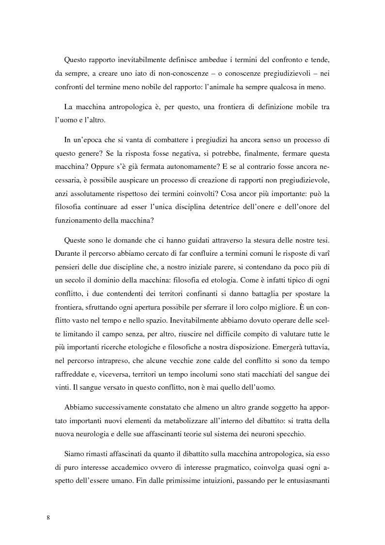 Anteprima della tesi: La frontiera mobile: la macchina antropologica, Pagina 2