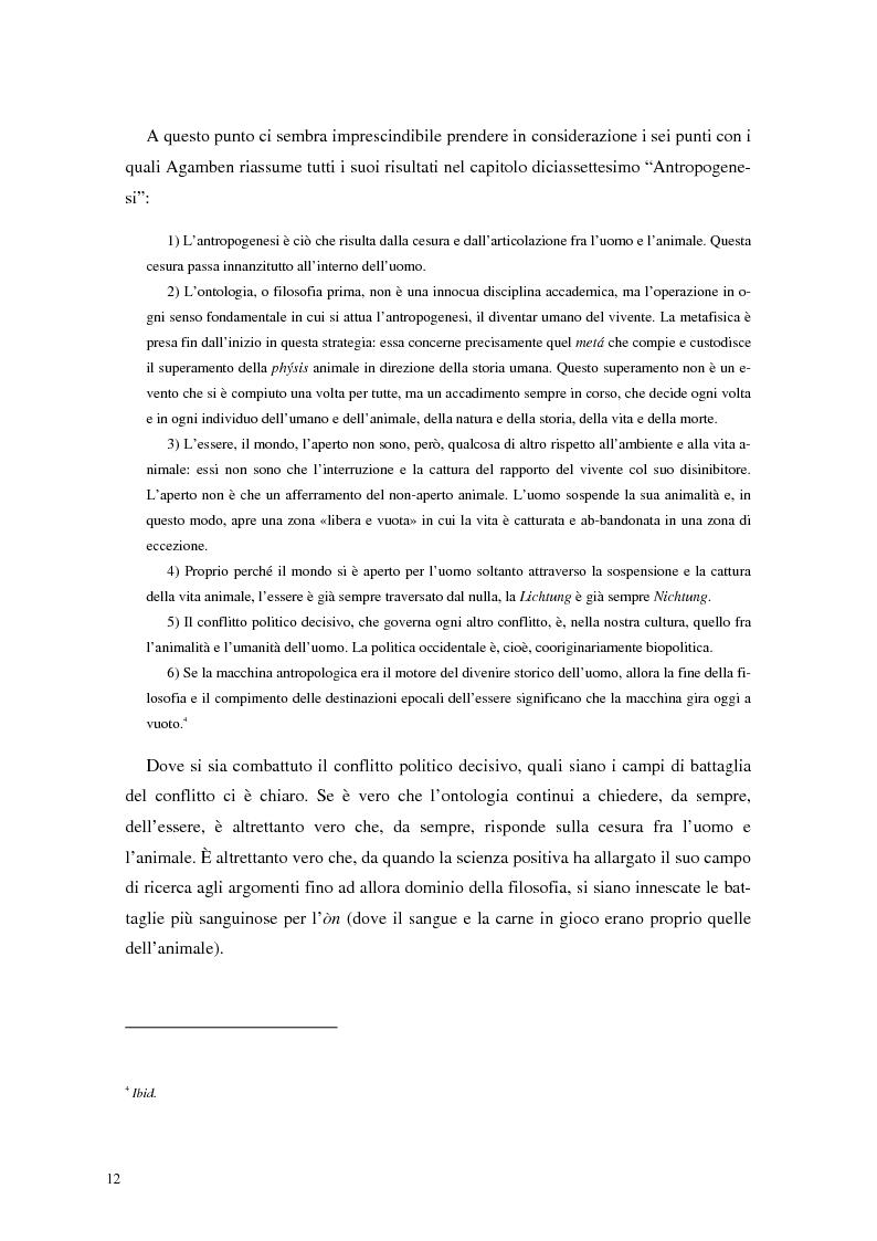 Anteprima della tesi: La frontiera mobile: la macchina antropologica, Pagina 5