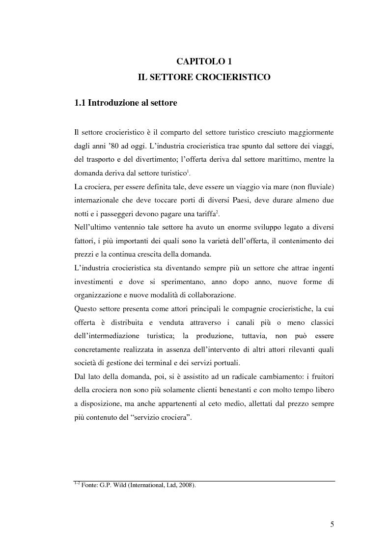 Anteprima della tesi: Il peso delle escursioni nella determinazione della redditività di un'impresa crocieristica: il caso Costa Crociere, Pagina 3