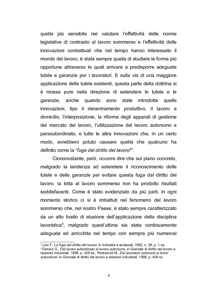 Anteprima della tesi: Il lavoro sommerso, Pagina 6