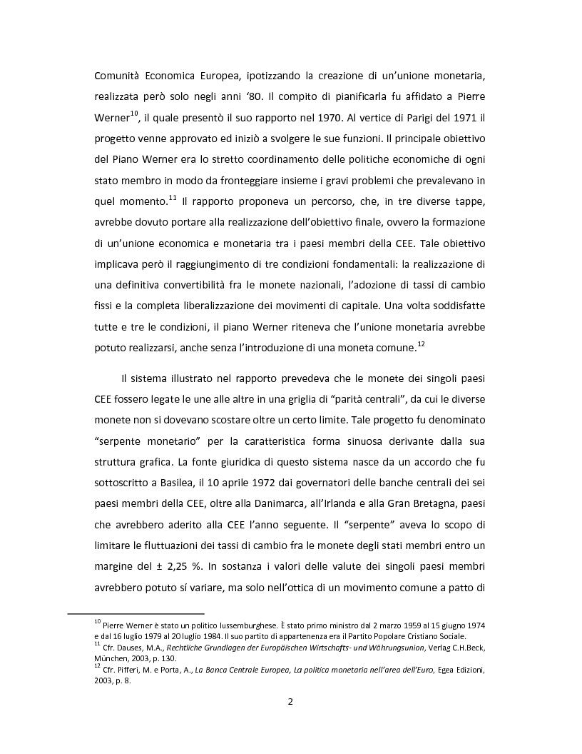 Anteprima della tesi: Il Patto di stabilità e crescita dell'Unione Europea: una prospettiva giuridica ed economica, Pagina 5