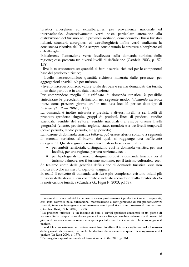 Anteprima della tesi: Il turismo relazionale integrato e il paese albergo in Sicilia, Pagina 2