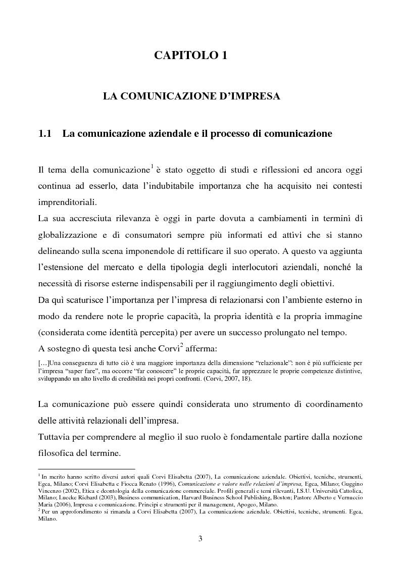 Anteprima della tesi: Pubblicità e marketing non convenzionale per il lancio del marchio Dr, Pagina 3