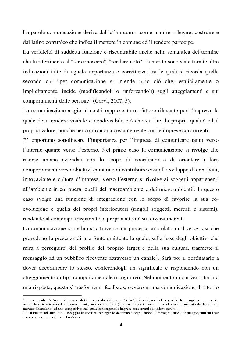 Anteprima della tesi: Pubblicità e marketing non convenzionale per il lancio del marchio Dr, Pagina 4