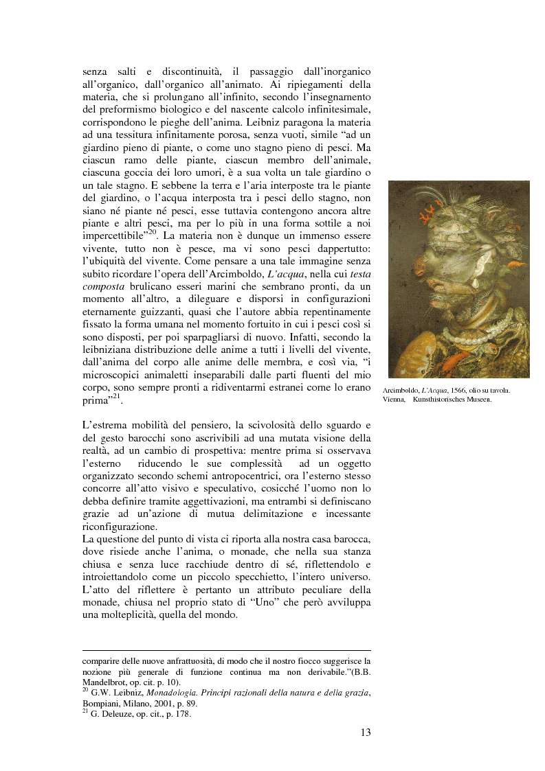 Anteprima della tesi: L'accoglimento del caso ovvero la piega, Pagina 3