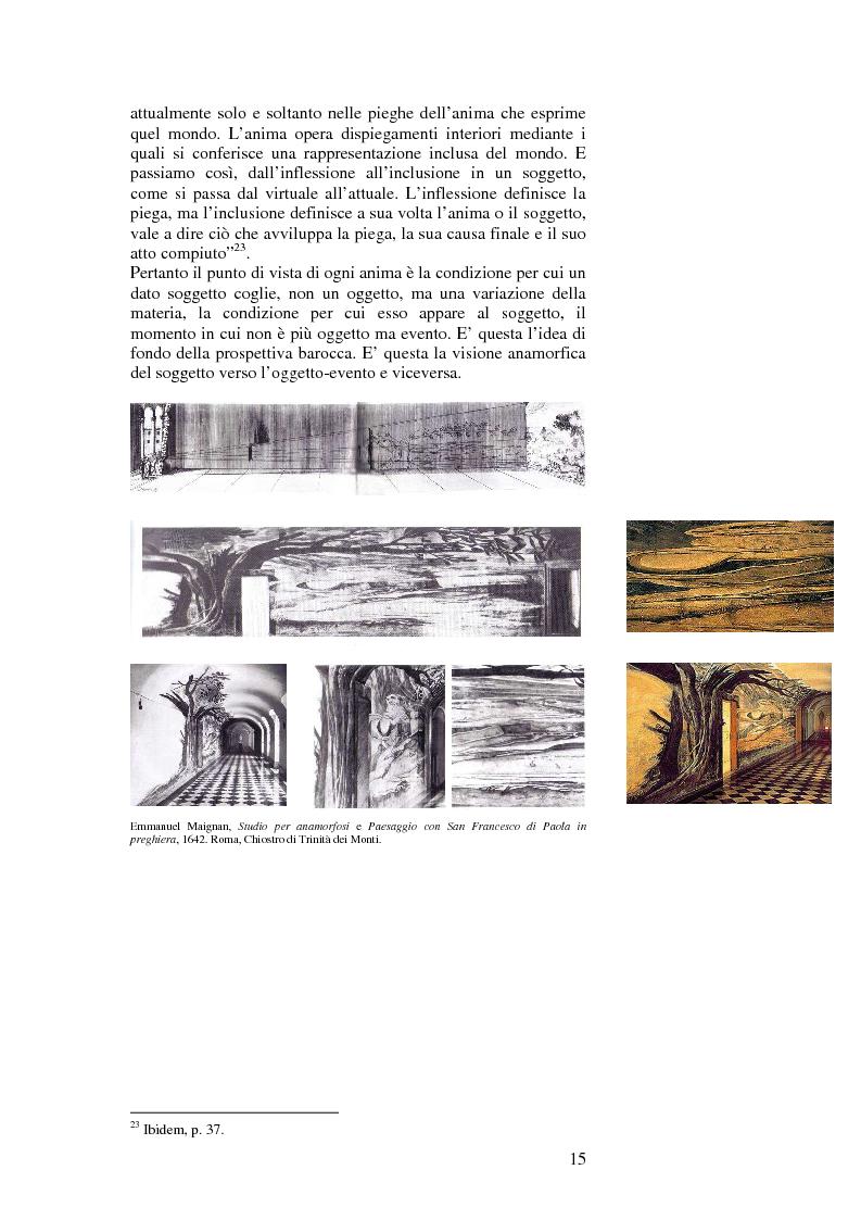 Anteprima della tesi: L'accoglimento del caso ovvero la piega, Pagina 5