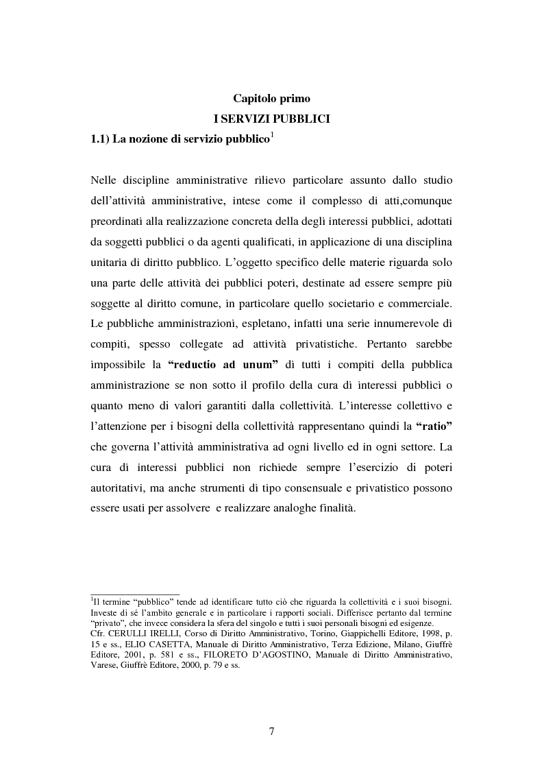 Anteprima della tesi: Erogazione elettronica di servizi (e-government) e informazioni ai cittadini, Pagina 5