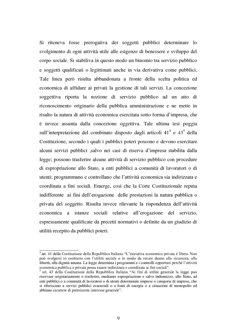 Anteprima della tesi: Erogazione elettronica di servizi (e-government) e informazioni ai cittadini, Pagina 7