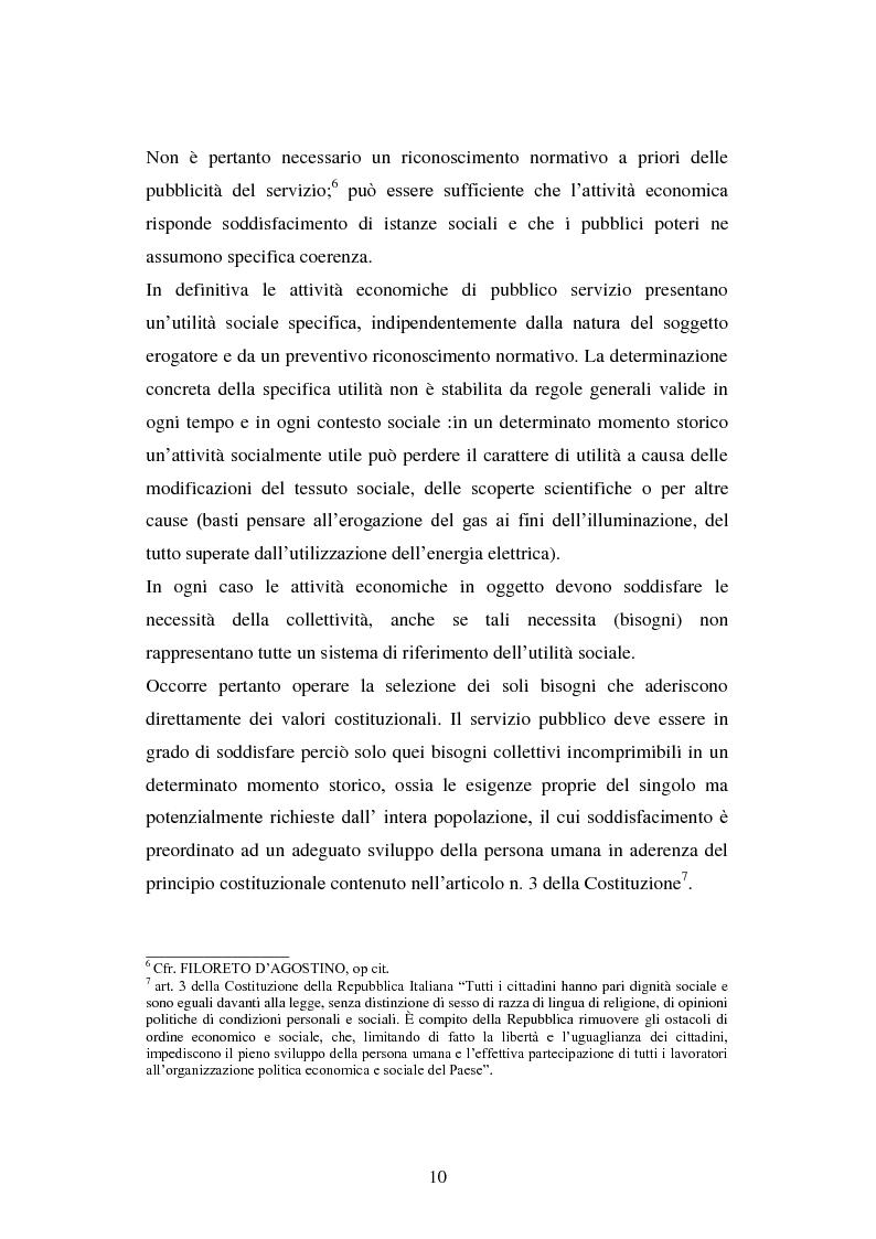 Anteprima della tesi: Erogazione elettronica di servizi (e-government) e informazioni ai cittadini, Pagina 8
