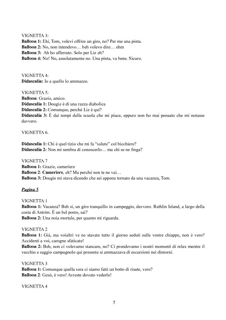 Anteprima della tesi: Tradurre Garth Ennis. La poetica dell'autore irlandese in Troubled Souls., Pagina 3