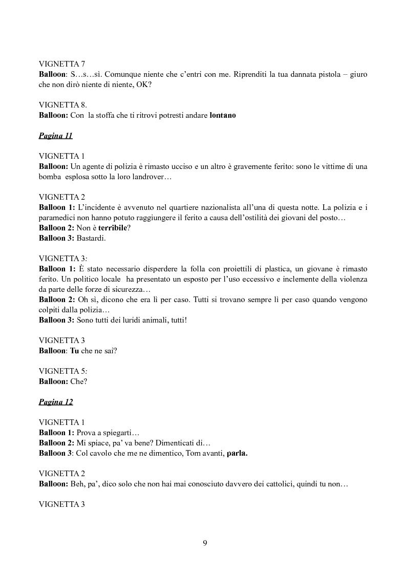 Anteprima della tesi: Tradurre Garth Ennis. La poetica dell'autore irlandese in Troubled Souls., Pagina 7