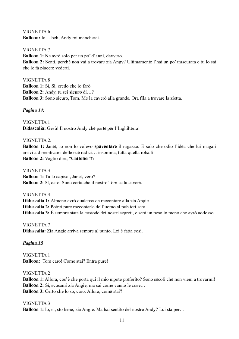 Anteprima della tesi: Tradurre Garth Ennis. La poetica dell'autore irlandese in Troubled Souls., Pagina 9
