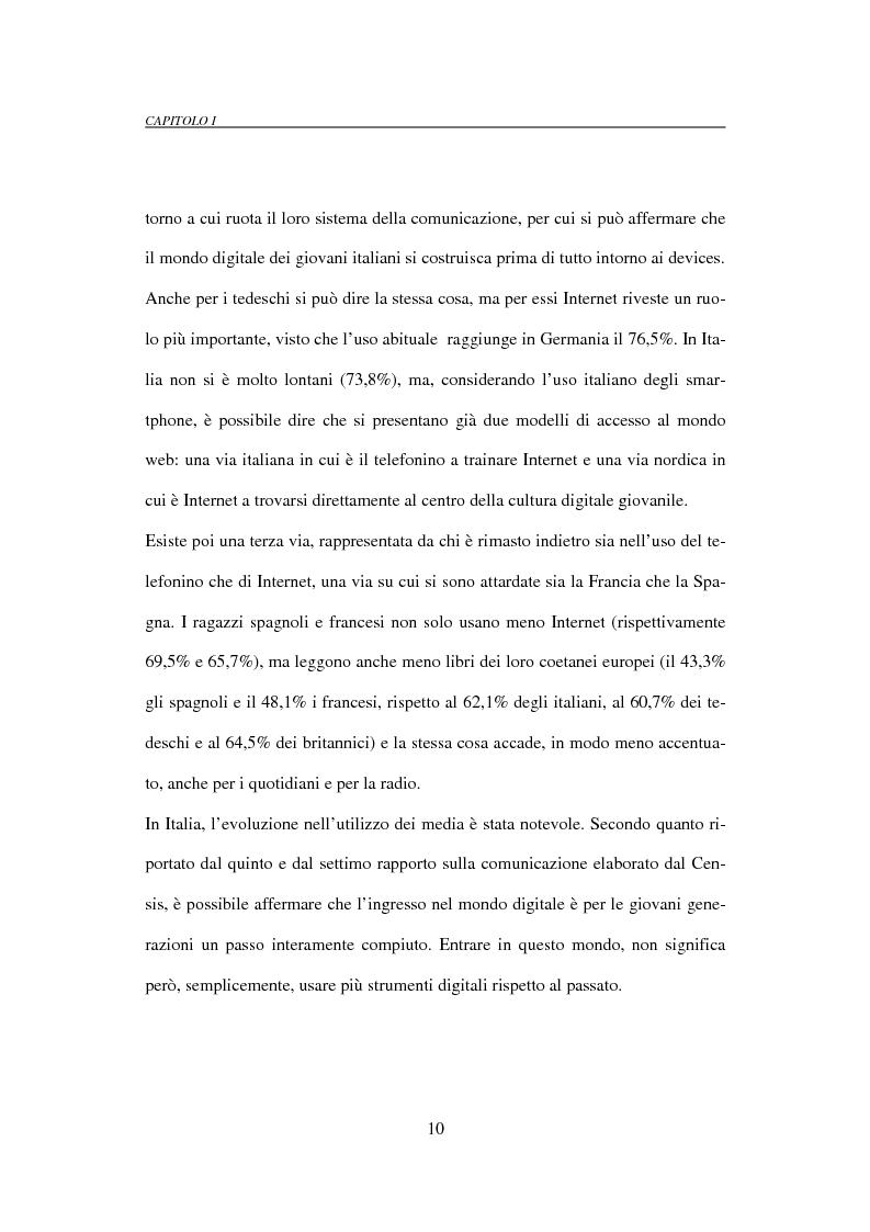 Anteprima della tesi: Il mobile marketing: caratteri, strumenti ed esperienze aziendali, Pagina 10