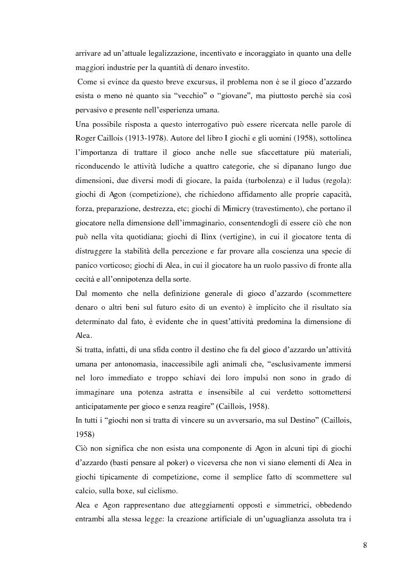 Anteprima della tesi: Gruppo e gioco d'azzardo, Pagina 5