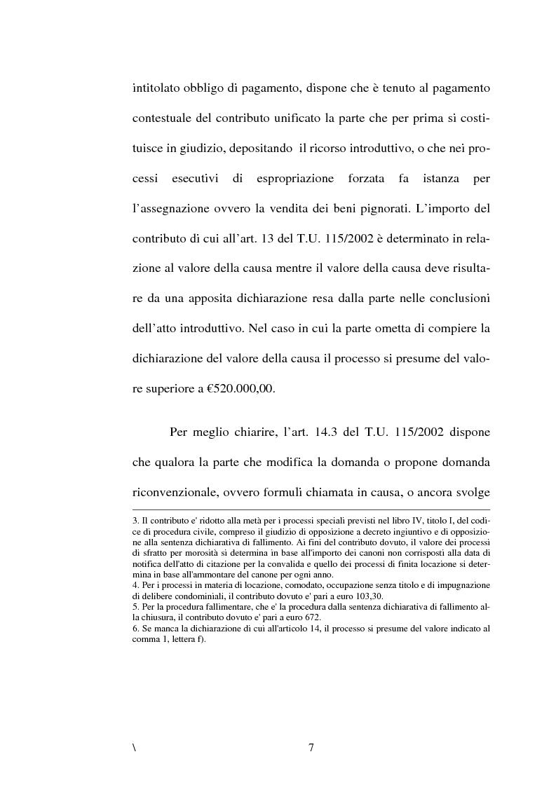Anteprima della tesi: La disciplina delle spese nel processo civile, Pagina 3
