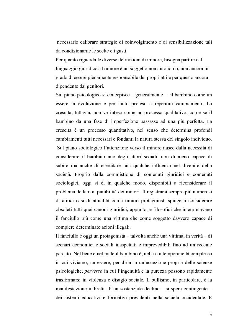 Anteprima della tesi: I diritti dei minori nell'ordinamento giuridico italiano, Pagina 2