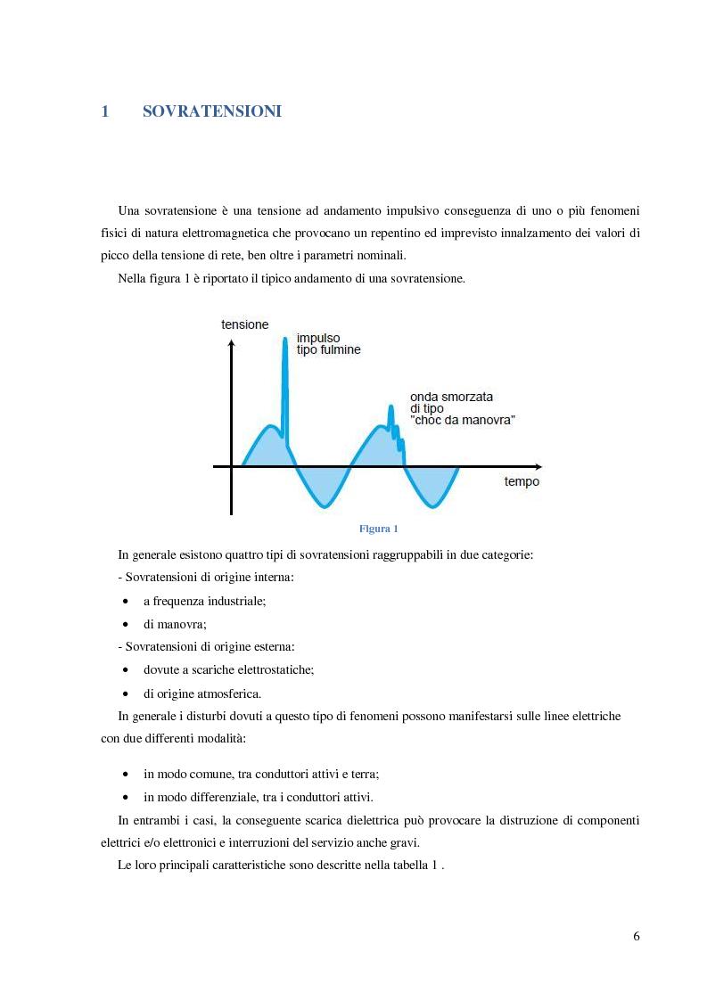 Anteprima della tesi: Protezione dalle sovratensioni: analisi, scelta e dimensionamento degli SPD, Pagina 2