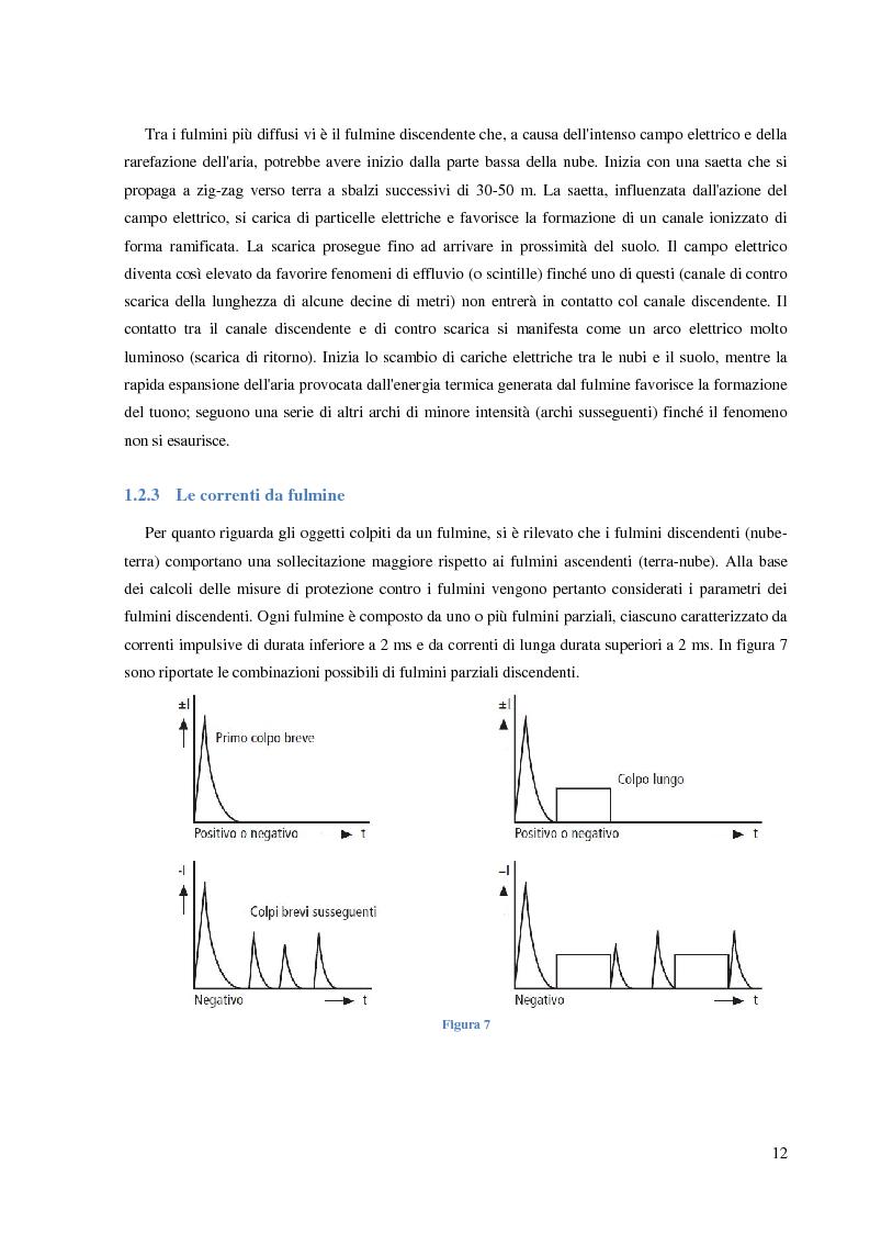 Anteprima della tesi: Protezione dalle sovratensioni: analisi, scelta e dimensionamento degli SPD, Pagina 8