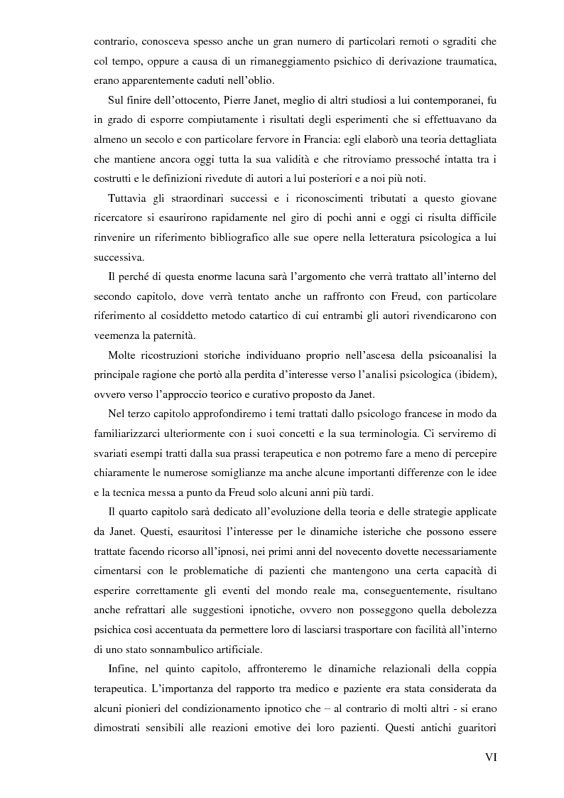 Anteprima della tesi: Pierre Janet, le origini della disaggregazione psicologica, Pagina 2