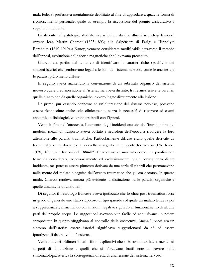 Anteprima della tesi: Pierre Janet, le origini della disaggregazione psicologica, Pagina 5