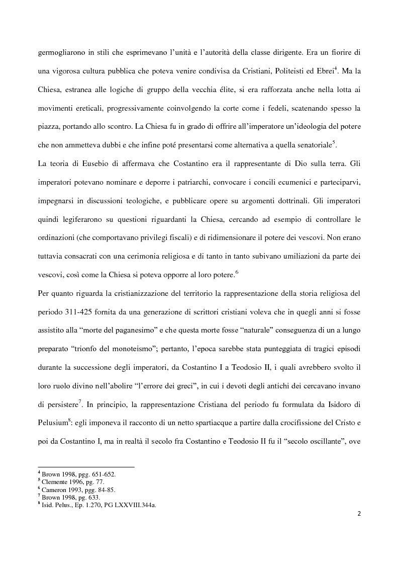 Anteprima della tesi: Valentiniano III e gli Unni, Pagina 2