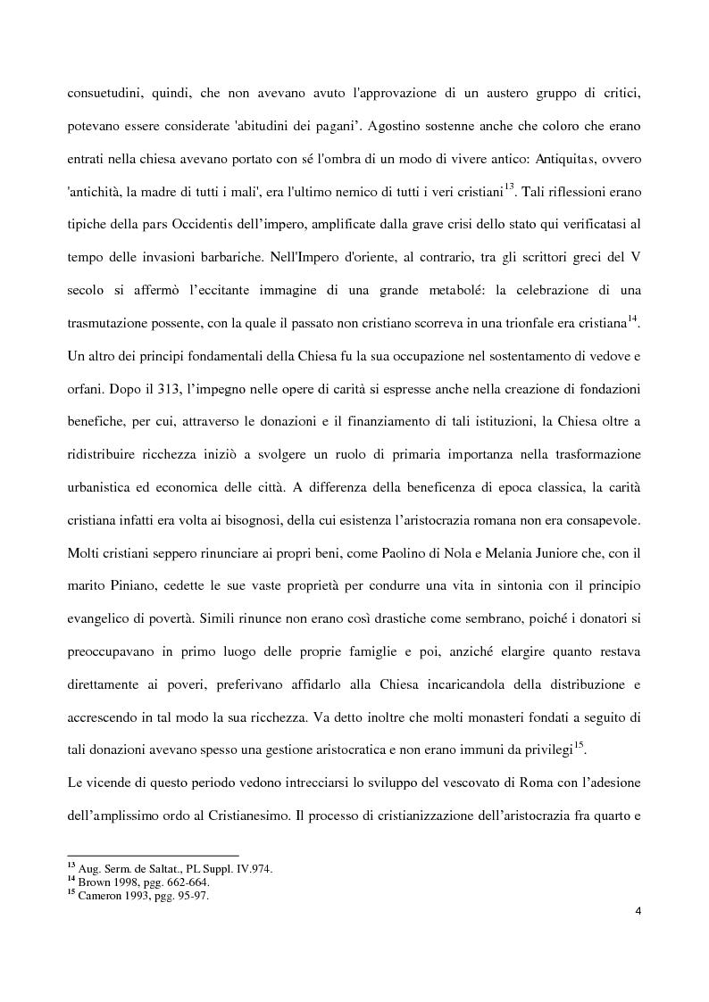 Anteprima della tesi: Valentiniano III e gli Unni, Pagina 4