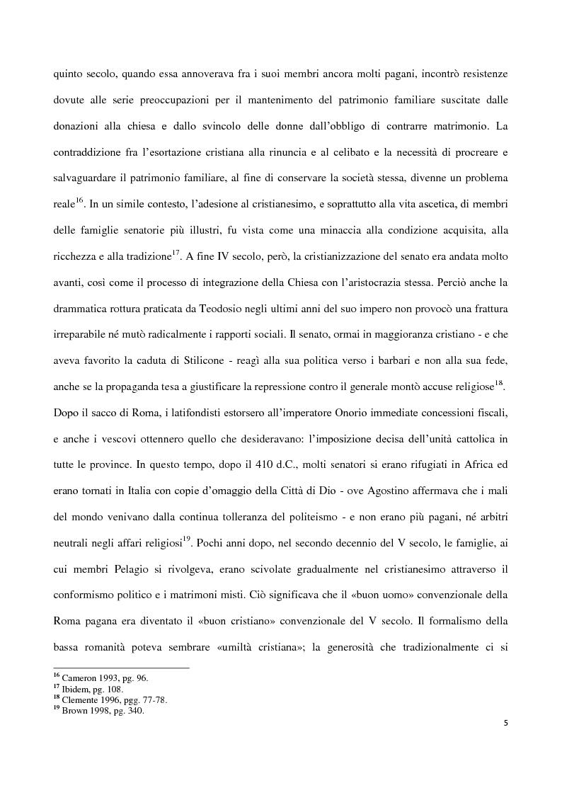 Anteprima della tesi: Valentiniano III e gli Unni, Pagina 5