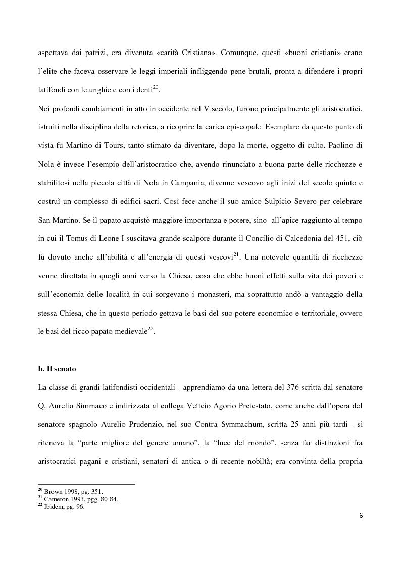 Anteprima della tesi: Valentiniano III e gli Unni, Pagina 6