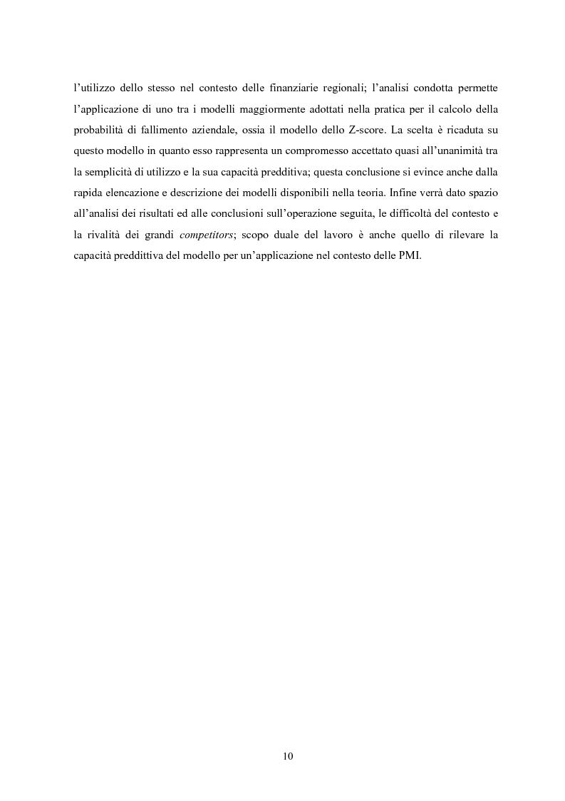 Anteprima della tesi: Il Private Equity nelle finanziarie regionali: un caso di insuccesso, Pagina 4