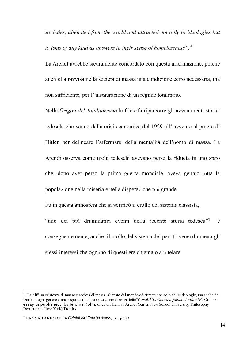 Anteprima della tesi: Il volto banale del Male: Arendt/Eichmann, Pagina 11