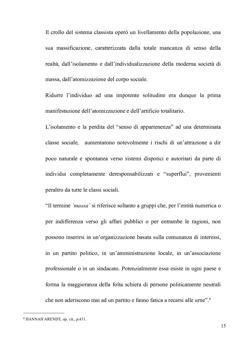 Anteprima della tesi: Il volto banale del Male: Arendt/Eichmann, Pagina 12