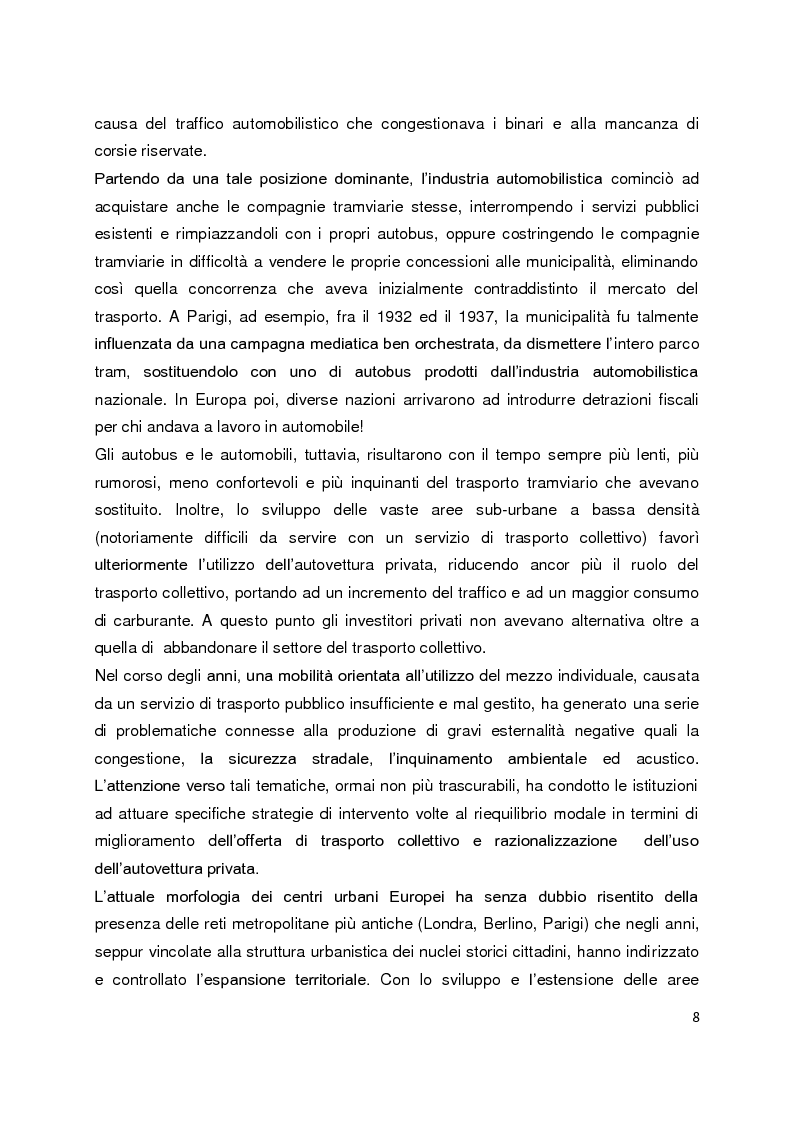 Anteprima della tesi: Sistemi di governance e modelli di integrazione tariffaria nel trasporto pubblico locale, Pagina 4