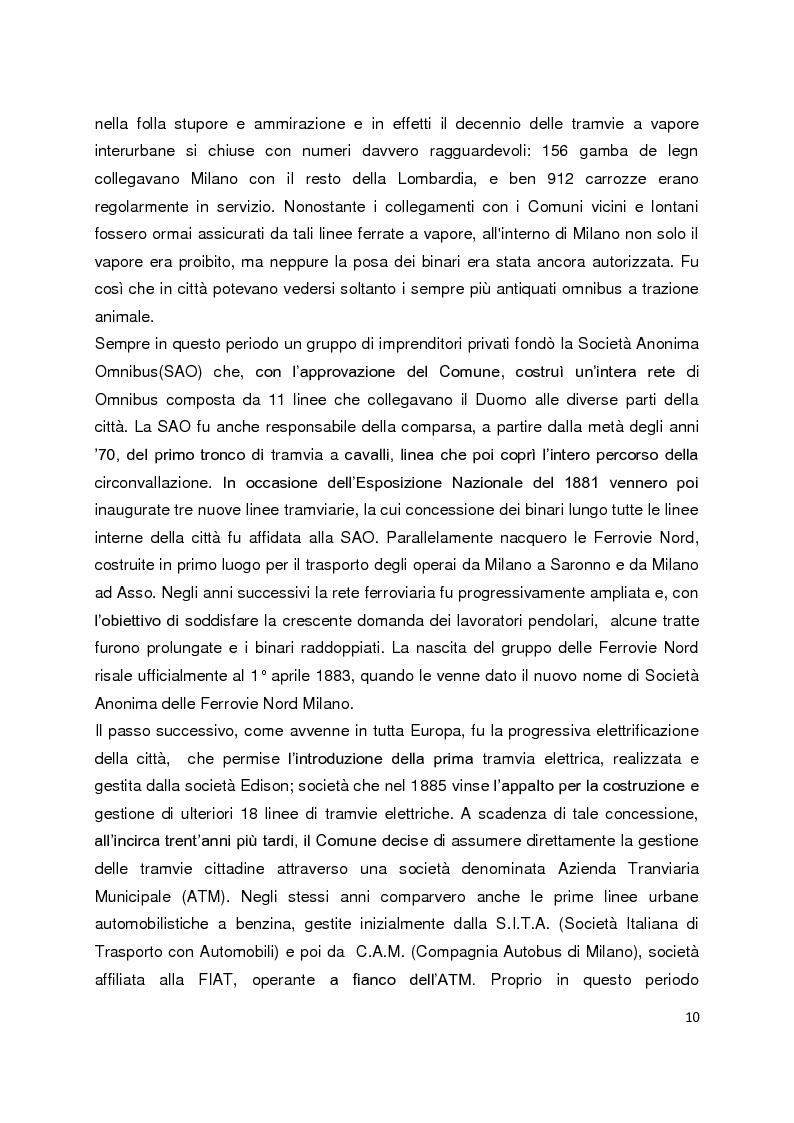 Anteprima della tesi: Sistemi di governance e modelli di integrazione tariffaria nel trasporto pubblico locale, Pagina 6