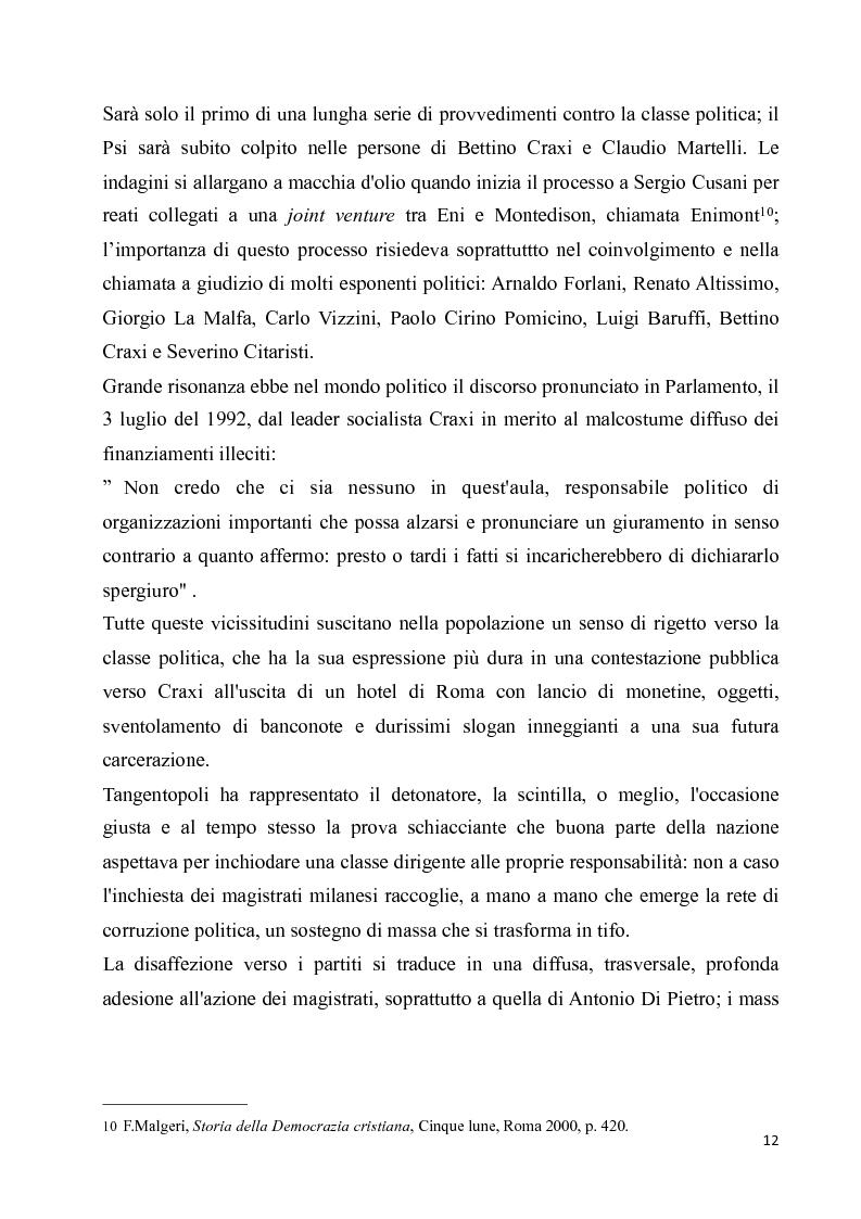 Anteprima della tesi: La diaspora democristiana dopo la fine della prima repubblica, Pagina 8