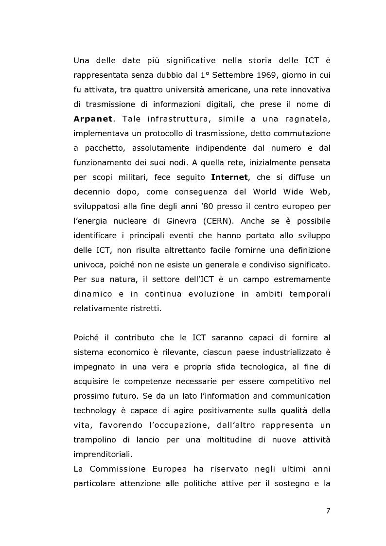 Anteprima della tesi: Le conseguenze economiche delle nuove tecnologie di comunicazione, Pagina 5