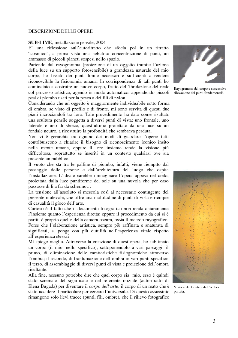 Anteprima della tesi: L'inclinazione al fotografico nel Novecento, Pagina 2