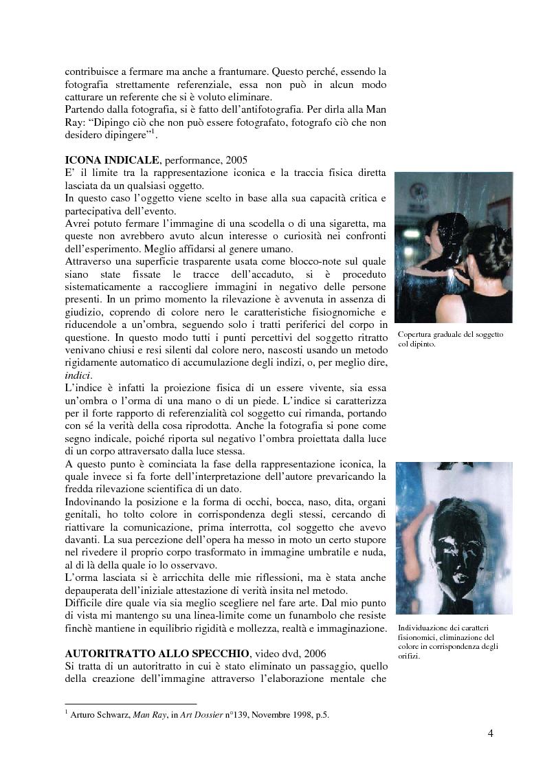 Anteprima della tesi: L'inclinazione al fotografico nel Novecento, Pagina 3