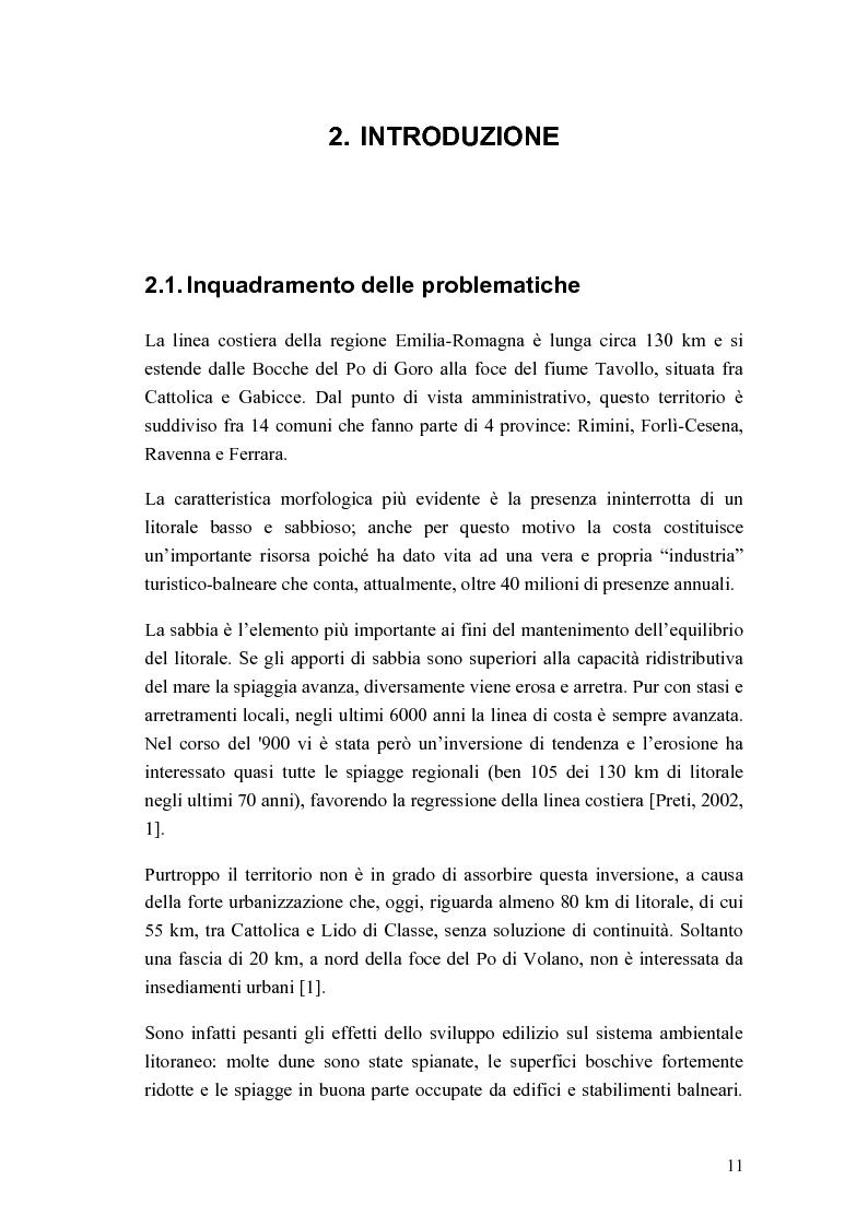 Anteprima della tesi: Cantiere per l'esecuzione di un ripascimento con temporaneo deposito in mare: analisi della dispersione dei sedimenti, Pagina 3